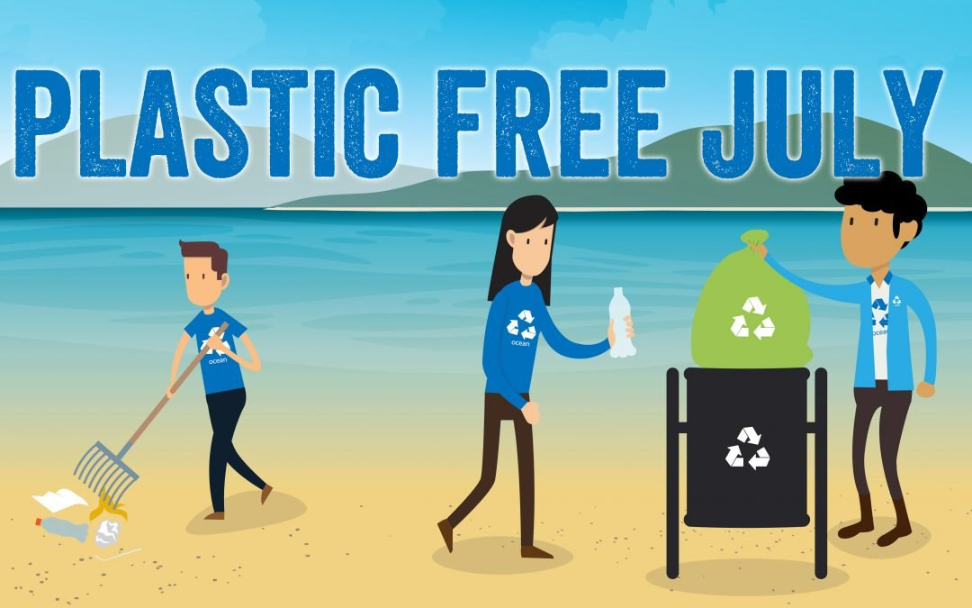 Join us for Plastic Free July…