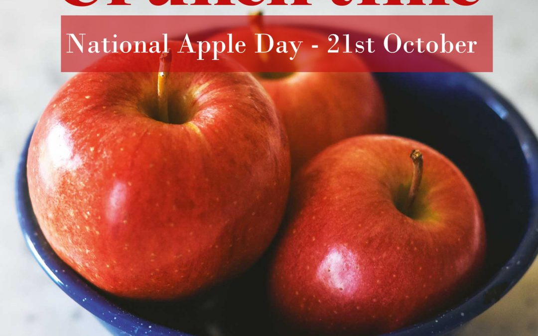 Let's Celebrate National Apple Day on 21st October…