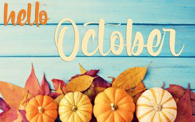 Hello October…